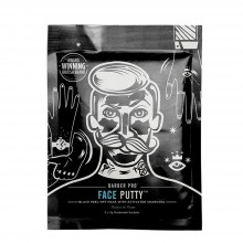 BARBER PRO FACE PUTTY Peel-Off Mask with Activated Charcoal - 3 Masks