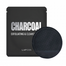 LAPCOS Charcoal exfoliating and cleansing pad